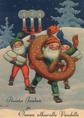 Rudolf Koivu, Iloista joulua