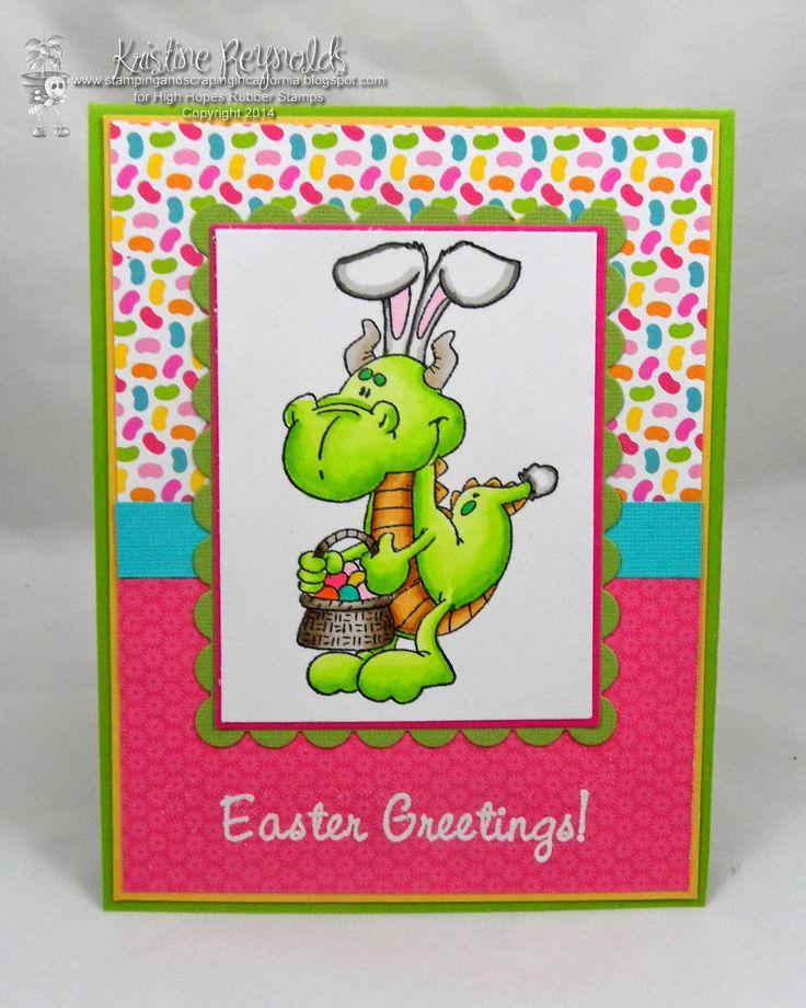 #Easter Card #High Hopes #Dragon
