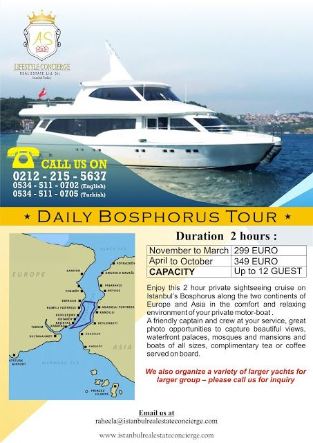 AS Lifestyle Concierge and Real Estate Services Ltd. Sti.: Daily Bosphorus Tour