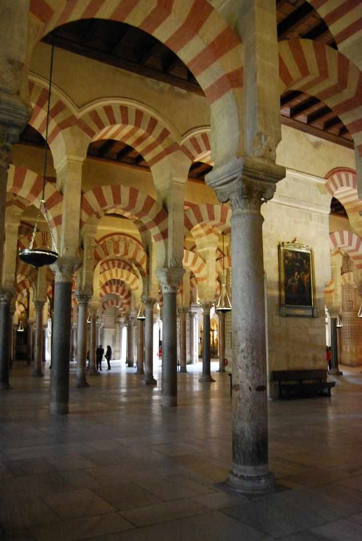 The Mezquita in Cordoba. This cathedral used to be a mosque. http://bit.ly/1qLvBBK