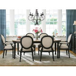 Great Rooms Low Country Louis Side Chair By Universal