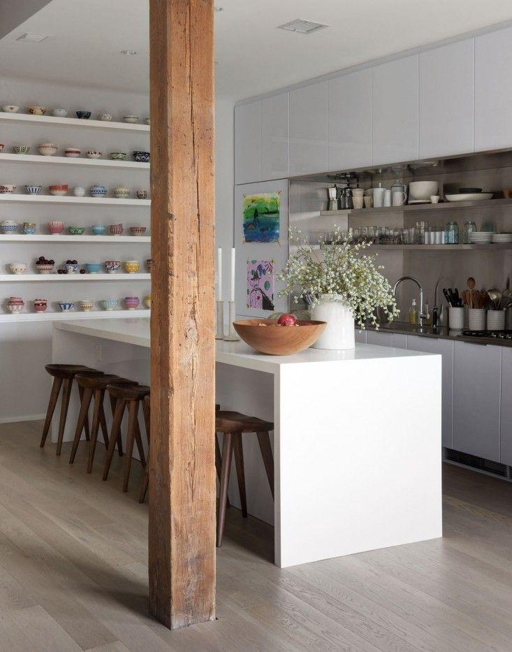 Dumbo Loft Robertson Pasanella kitchen I Remodelista