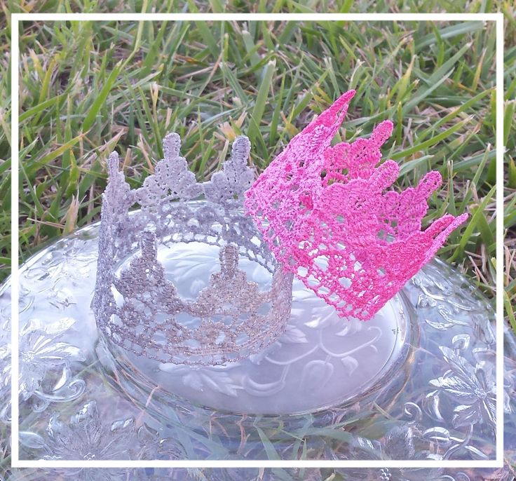 Lace baby crown, Newborn baby crown, Photo prop, Baby girl, shower gift,toddler crown, child crown, cake topper, Birthday accessory by KinzleysBowtique on Etsy