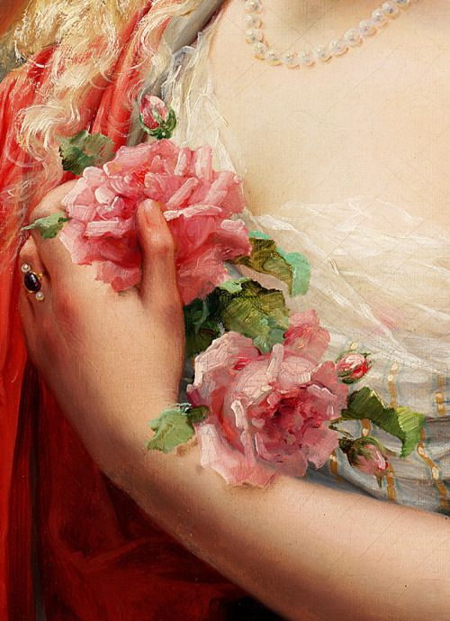 Emile Vernon. Detail from La Printemps, 1913.