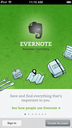 Evernote is an APP where students can take notes and create a notebook full of ideas all on their own device. Teachers can also use this APP during planning meetings and grade level meetings. You can organize your notes and keep them with you at all times.