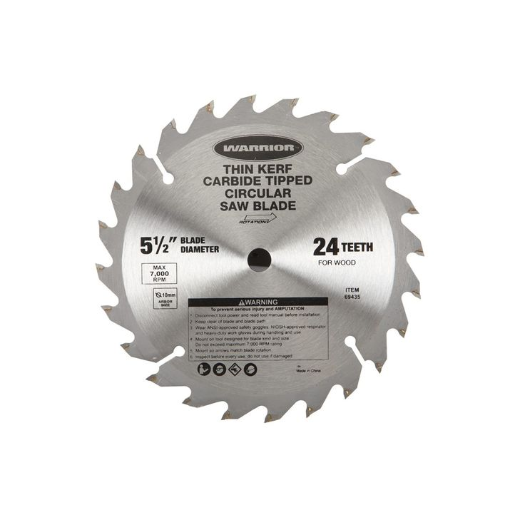 2 in saw blades warrior 69435 5 12 24 tooth carbide tipped 2 in saw blades warrior 69435 5 12 24 tooth carbide tipped circular saw blade bullseye every time pinterest greentooth Gallery