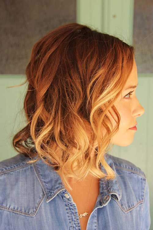Short Hair with Color 2014 – 2015