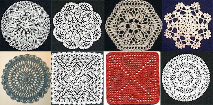Free Crochet Patterns Doily Square : 1000+ images about All Things Crocheted ~ Pineapples on ...