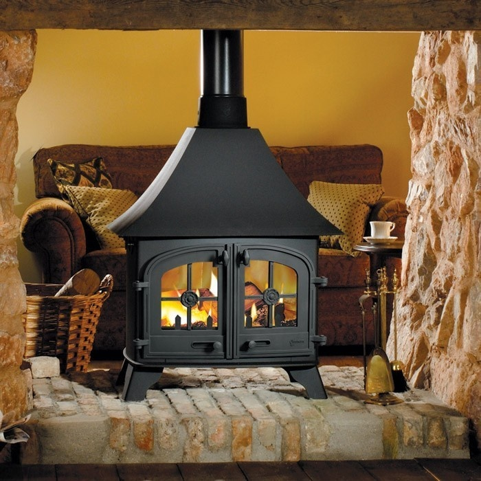 Yeoman Devon Double Sided Multifuel Stove - Stoves Are Us