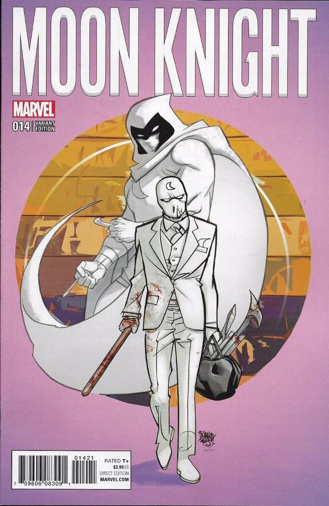 Marvel Moon Knight comic issue 14 Limited variant