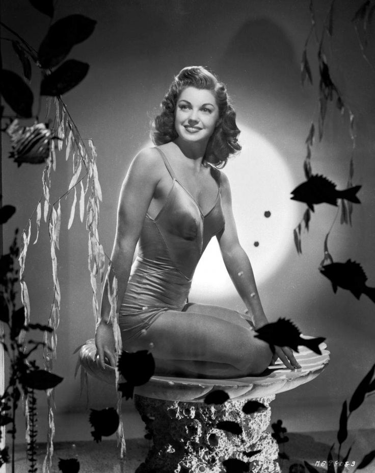 Esther Williams in Million Dollar Mermaid, 1952