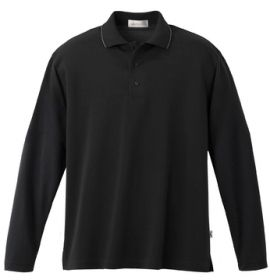 Promotional Products Ideas That Work: Men's tactel custom long sleeve pique polo. Get yours at www.luscangroup.com