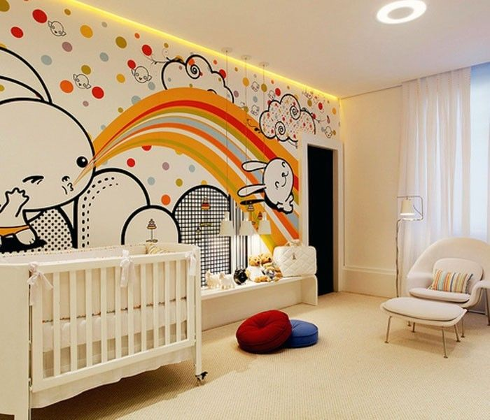 Awesome Babyzimmer Gestalten Babyzimmer Set Graffiti With Babyzimmer