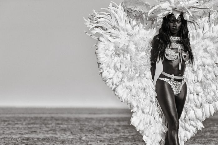 artist Ishmil Waterman creates ode to famous fashion photographer Herb Ritts - AFROPUNK