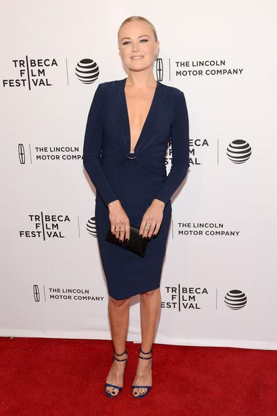 """Malin Akerman Photos - Actor Malin Akerman attends the """"Wolves"""" Premiere during the 2016 Tribeca Film Festival at SVA Theatre 1 on April 15, 2016 in New York City. - """"Wolves"""" Premiere - 2016 Tribeca Film Festival"""