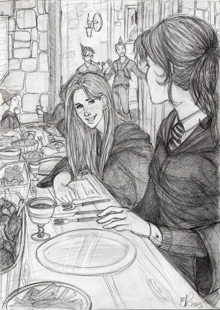 Hermione's Birthday Surprise by Catching-Smoke on deviantART Harry and Ron come back to Hogwarts for Hermione's birthday while she is finishing her last year.
