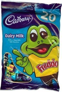 Cadbury Freddo Frog Share Pack 200g 20 pcs - I want these!!!