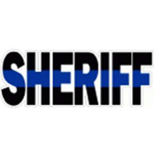 Sheriff Blue Line