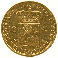 Nederland - 10 Gulden 1839 Willem I - goud