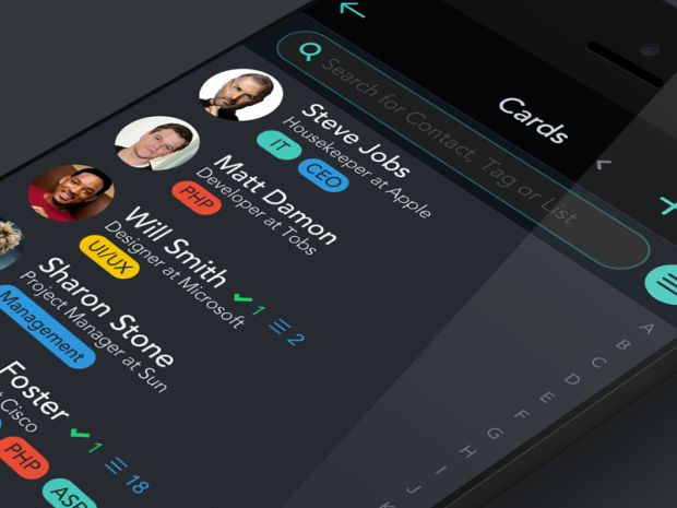 30 Dark iPhone App UI Designs - these colours work well