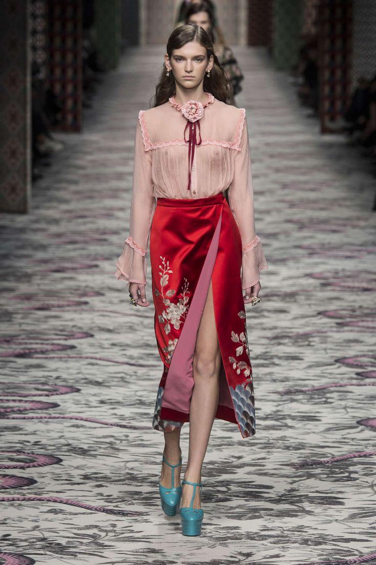 Gucci Primavera/ Verão 2016, Womenswear - Desfiles (#22901)