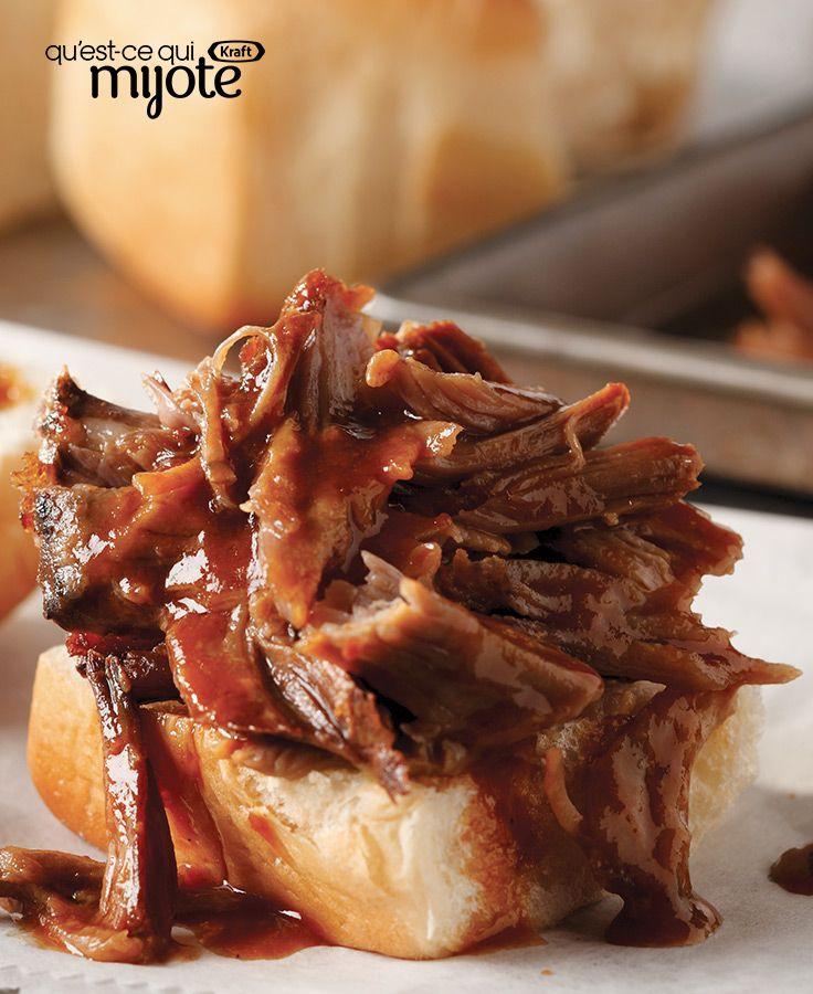Porc effiloché épicé BULL'S EYE #recette