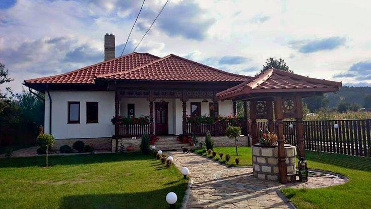 Arhitectura traditionala in Soveja, #Vrancea. - arhitect George Paduraru Coban / #traditionalhouse #Romania #countryhouse