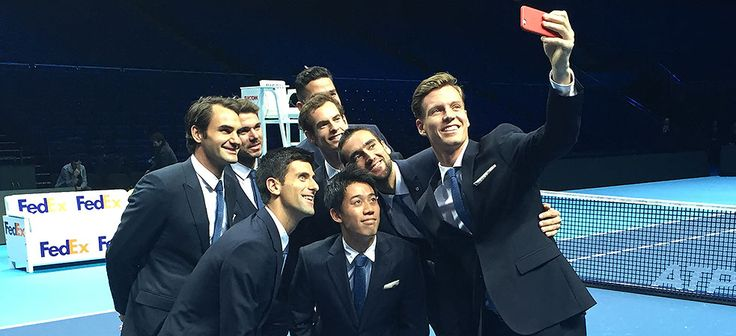 The eight who made it to YEC in London. It's nice to see newbies like Kei and Milos, but surely will miss seeing my guy there. Hope he is taking good care of himself and will TOTALLY recoup before training. Vamos!