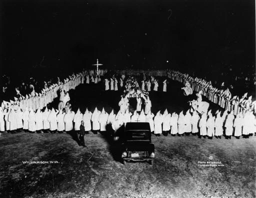 Roaring Twenties  Hate in the 20's - Ku Klux Klan rally