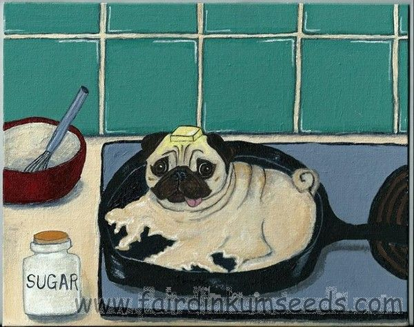 Breakfast with Pugsly