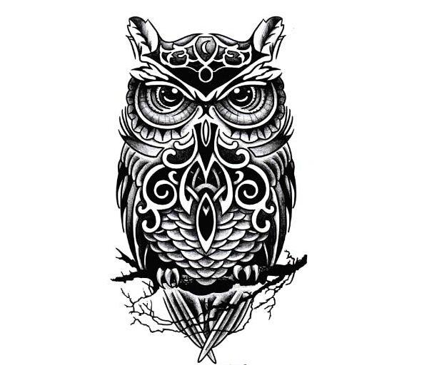 Милый вдохновили девушки большой рукой временные сова тату стикер бумаги от старого мода неделя, 1 шт./лот, принадлежащий категории Переводные татуировки и относящийся к Красота и здоровье на сайте AliExpress.com   Alibaba Group