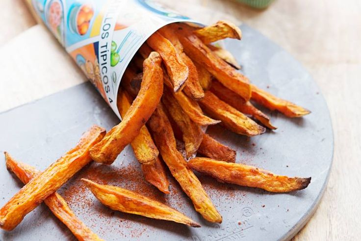 29 april - Zoete aardappelen in de bonus - Perfecte snack voor deze vrijdagavond: gezondere frites - Recept - Allerhande