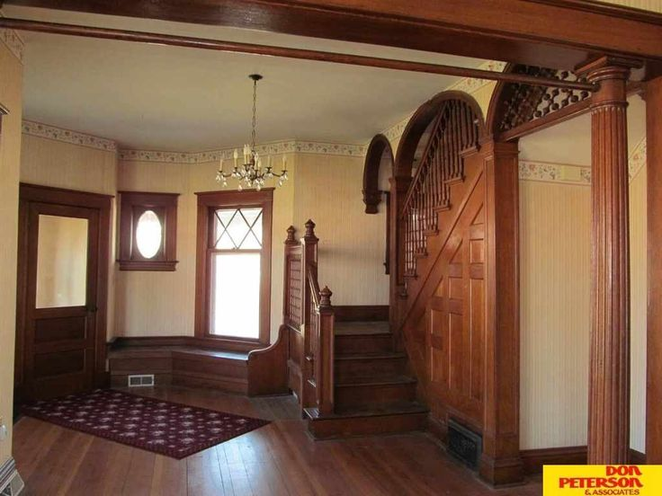 Large Foyer Window : Story victorian home on corner lot sq ft formal