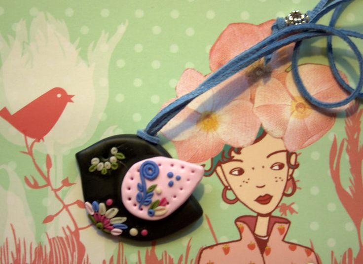 Ketten kurz - Schöne Halskette Birdie - ein Designerstück von MIO-O bei DaWanda