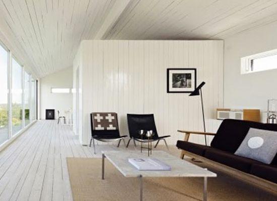 Scandinavian Summer House Living, Featured on sharedesign.com