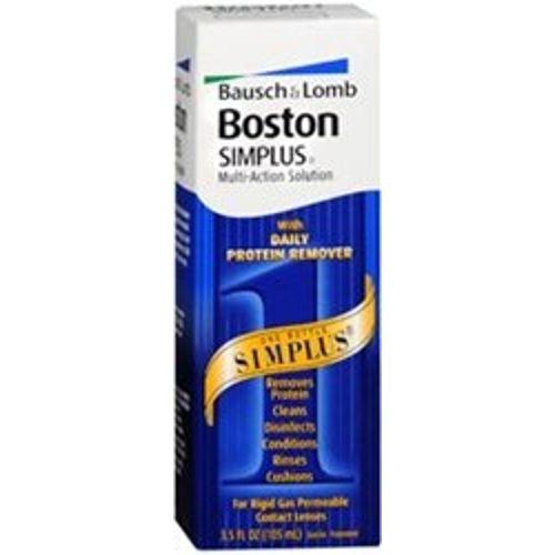 Boston Simplus Multi-Action Solution for Rigid Gas Permeable Contact Lenses - 3.5 oz