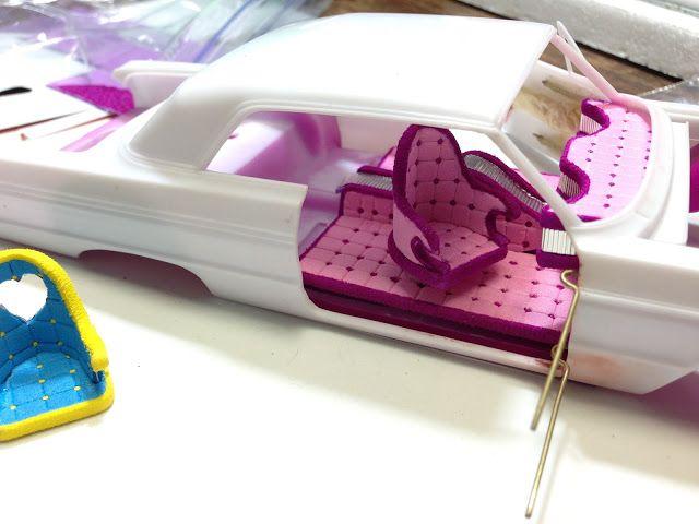 Blog: Making Seats- Lowrider Model Car