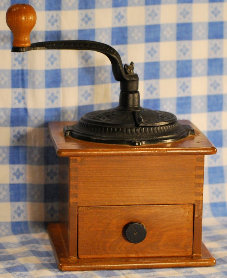 Antique Coffee Grinder, my grandmother kept hers on a high shelf -so of course I found it completely fascinating...
