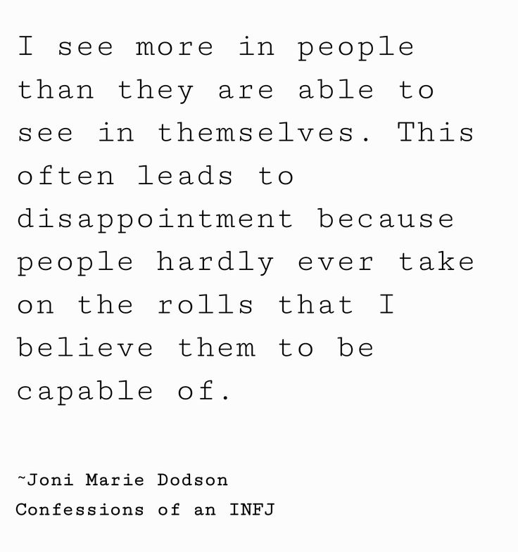 Maybe this is true for the way I see myself as well.