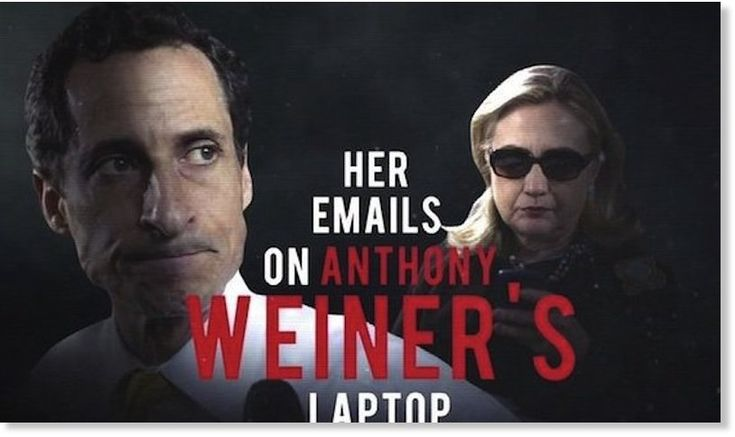 Breaking sex scandal from Weiner's laptop may be the smoking gun that will bring down the Clintons for good -- Puppet Masters -- Sott.net