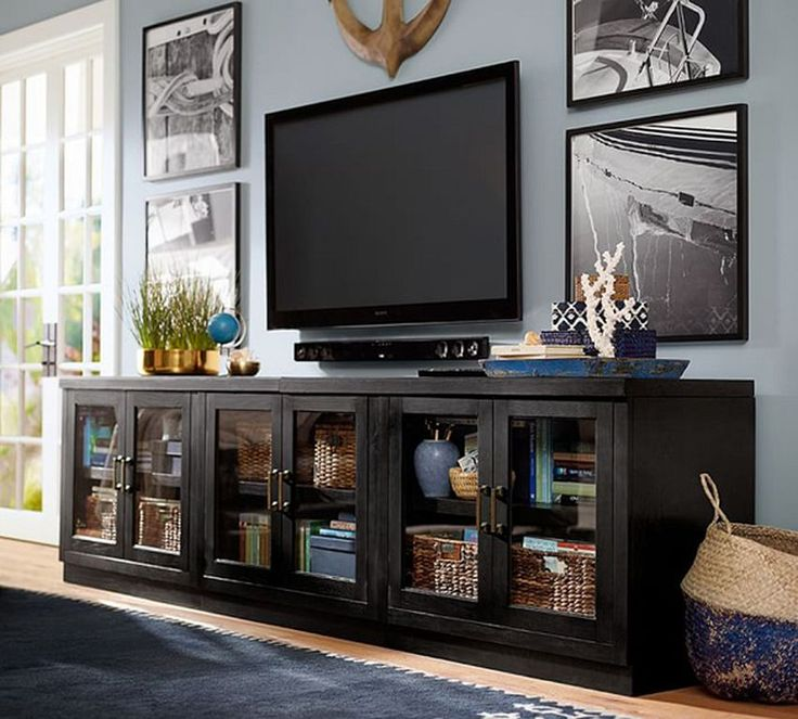 30+ Glass TV Stand Designs For Your Interior