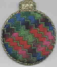 Name: Cheryl Schaeffer's Christmas Ornament #3 Design By: Cheryl Schaeffer