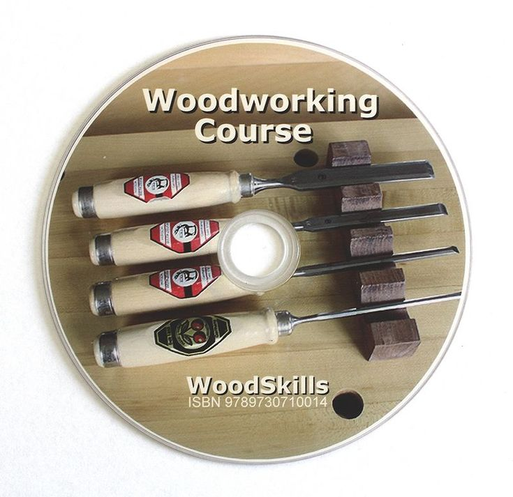 Complete Woodworking Course DVD