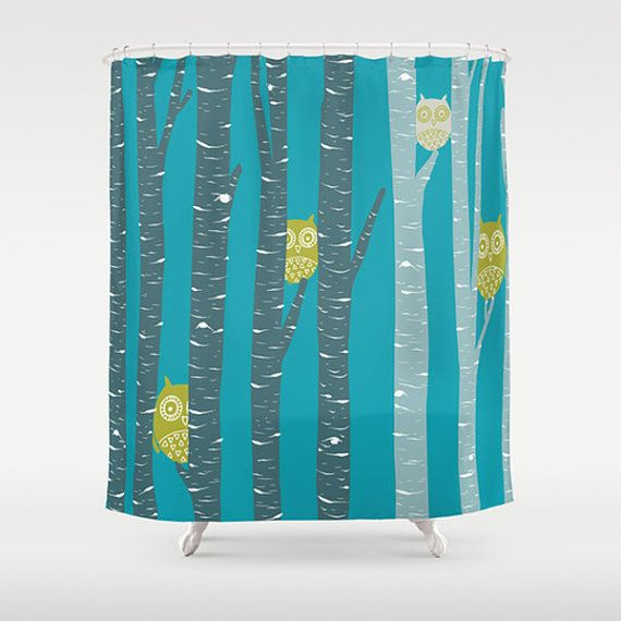 Make your bathroom the coolest with this cheerful Shower Curtain!  Made from 100% polyester this shower curtain is printed in the USA and features a