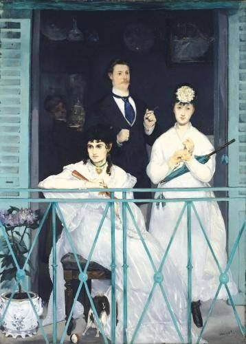 Edouard manet, Manet and The balcony on Pinterest