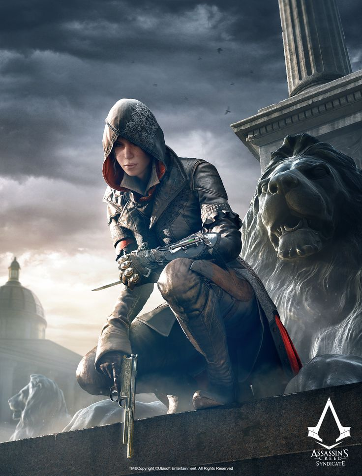 ArtStation - Assassin s Creed Syndicate - Evie, Fabien Troncal