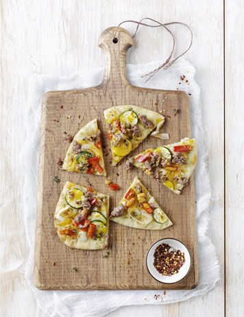 10 flatbread recipes for fun family dinners: Pizza Recipe, Flatbread Pizza, Events Food, Pita Pizza, Veggies Pizza, Healthy Recipe, Vegetables Pizza, Tables Vegetables, Flatbread Recipe