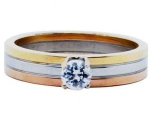 カルティエ 指輪 ダイヤモンドのトリニティ