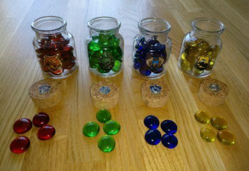 Harry-Potter-Party-Geburtstag-Set-Spiel-Deko-Pokal-Hauspunkte-Horcrux-Jagd