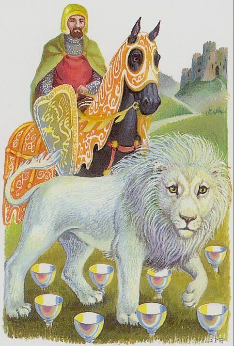 Card of the Day - 8 of Cups - Wednesday, February 17, 2016